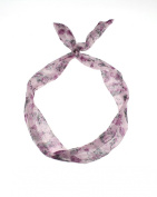 Zac's Alter Ego® Floral Print Vintage Look Wire Headband