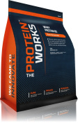 """The Protein Works - Pure Whey Protein 80 Concentrate Powder With Free Scoop - Winner Of The """"Best Protein Award"""" - Banana Smooth, 500g"""