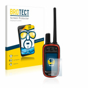 2x BROTECT® Screen Protector Garmin Alpha 100 - Crystal-Clear, Anti-Fingerprint, Anti-Scratch, Bubble-Free
