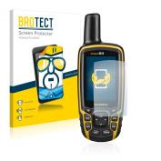 2x BROTECT® Screen Protector Garmin GPSMAP 64 - Crystal-Clear, Anti-Fingerprint, Anti-Scratch, Bubble-Free