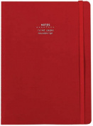 Nava Everything Medium Notebook, Red