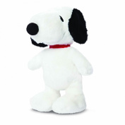 Official Peanuts Snoopy Dog Sitting Super Soft Plush Toy - 28cm