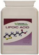 Better Bodies 250 mg Alpha Lipoid Acid - Pack of 90 Capsules
