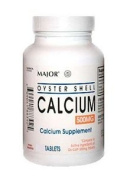 Major Oyster Shell Calcium Supplement 60 tablets