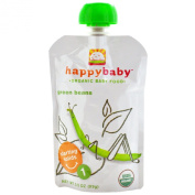 Organic Baby Food, Green Beans, Stage 1 - Nurture Inc. (Happy Baby) - UK Seller