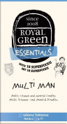 Royal Green Multi Man 120 tablet
