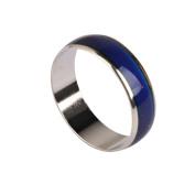 1pc Unisex Colour Changing Mood Ring Emotion Feeling Ring UK S