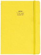Nava Everything Medium Notebook, Yellow