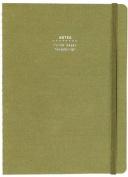 Nava Everything Medium Notebook, Olive