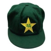 PAKISTAN CLASSICAL TRADITIONAL MELTON CRICKET CAP BAGGY STYLE 58-61CM GREEN
