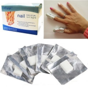 CCO Gel Polish Remover Foil Wraps Nail Art Soak Off Acrylic Shellac Varnish Removal Pad x 100