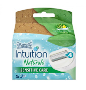 Wilkinsons Sword Intuition Naturals Sensitive Care Blade - Pack of 3 Blades