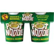 Pot Noodle Chicken & Mushroom Flavour