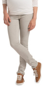 Esprit for mums Women's Maternity Slim trousers - Multicoloured - Mehrfarbig (Cement Grey 054) - 16