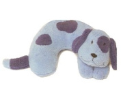 Childs Travel Support Neck Rest Pillow - Blue Dog