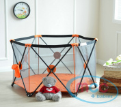 MCC Pop Up Playpen Portable Baby Play Yard Orange