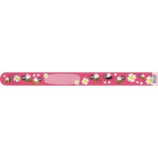 Infoband Single Use I.D. Travel Wrist Band for Kids Pk. of 10 - Bees Pink