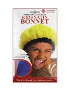 Donna Kids Satin Bonnets - Brown