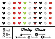 Mickey Mouse Waterslide Nail Decals - Set of 50