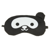Holiberty Creative Cartoon Cold and Hot Compresses Blindfold Eyeshade Ice Packs Sleeping Eye Mask Cover Blinder Gift for Travel Night Noon Nap Sleep Rest with Elastic Strap