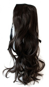 PRETTYSHOP 60cm 100g Hair Piece Clip In Pony Tail Extension Very LONG SEXY Curled Wavy Heat-Resisting Diverse Colours