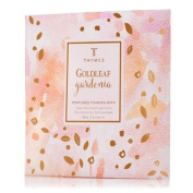 Thymes Goldleaf Gardenia Foaming Bath Envelope 60ml Net Wt
