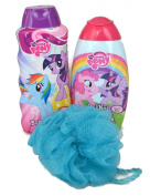 My Little Pone Bath Time Bundle of 3 Items