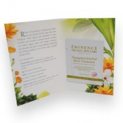 Eminence Sample Hungarian Herbal Mud Treatment Masque Set of 6 Card Samples by N/A