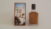 NEW BOX DESIGN for 2015 HOLLISTER California SoCal eau de Cologne 50ml