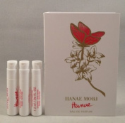 3 Hanae By Hanae Mori EDP Women Spray Sample Vial 0.04 Oz / 1.2 Ml