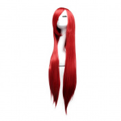 "LeWang® 40"" 100cm Long Straight Anime Cosplay Hair Costume Party Wig"