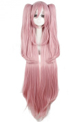 Lemail wig ® 15cm Long Pink Seraph Character Cosplay Wig zy164