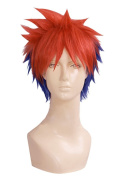 Anogol® Free Hair Cap+ Shokugeki no Soma Yukihira Souma Cosplay Wig Costume Ombre Short Layered Hair Wigs DM-508
