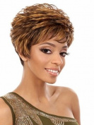 Marian® Fashion Layered Short Hair Style Wigs for Women with a Free Wig Cap