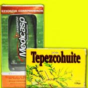 Anti-dandruff Control Medicasp Shampoo + Tepezcohuite Soap Get Rid of Dandruff