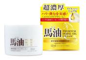 Loshi 100% Natural Premium Horse Oil Cream 100ml Japan Import