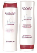Lanza Healing ColorCare Colour Preserving Shampoo 300ml & Conditoner 250ml duo by Healing Colorcare