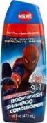 Spiderman 3-In-1 Body Wash-Shampoo-Conditioner 470ml Berry Blast by Spiderman