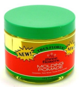 Three Flowers Moulding Pomade 180ml Jar by Three Flowers