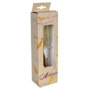 Ambassador Hairbrush, Olivewood Small Oval, Wood Pins, 1 Hairbrush by Ambassador