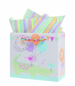 The Gift Wrap Company Gift Bags, Circus Pals, Small, 12 Count