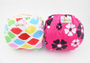 LilBit 2 pcs Pack Girls' Infant All In One Size Snap Swim Nappy SD03