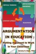Argumentation in Education