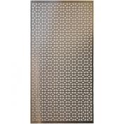 M-D Hobby & Craft Aluminium Metal Sheet, 30cm by 60cm , Chain Link