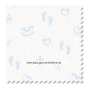 Zweigart 14ct Baby Aida-46cm x 50cm Needlework Fabric - Blue