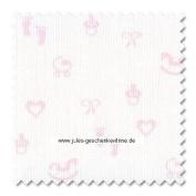 Zweigart 14ct Baby Aida-46cm x 50cm Needlework Fabric - Pink