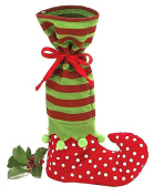 Wowlife Holiday Secret Santa Candy Bags Elf Boot Bottle Bag Candy Bags Christmas Gift Bags