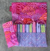 "Denise2Go, Crochet for a Cure 2-Hook, Interchangeable Crochet kit - ""Pink Bouquet"""