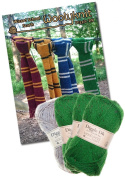 Harry Potter, Wizard School Scarf Knitting Bundle Pack. Wool and Knitting Pattern Provided!