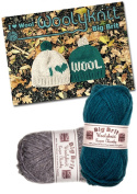 I Love Wool Hat Knitting Bundle Pack. Wool and Knitting Pattern Provided!
